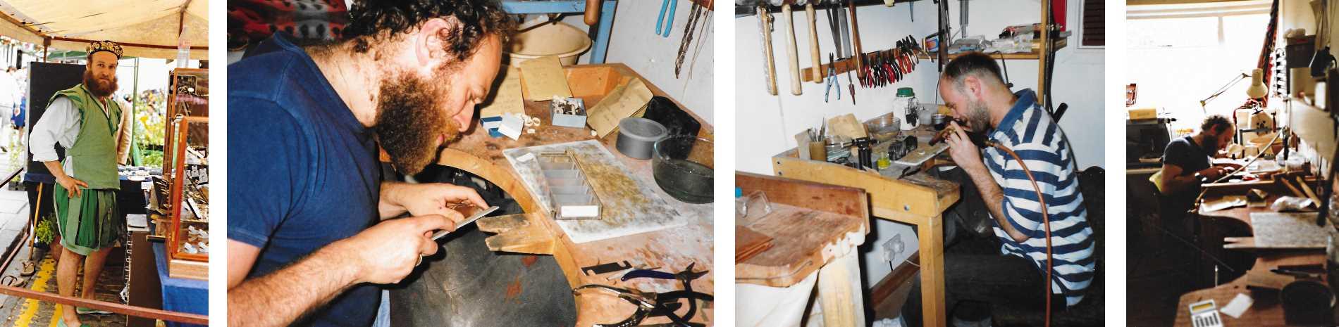 Simon Gorgin Making Bespoke Jewellery